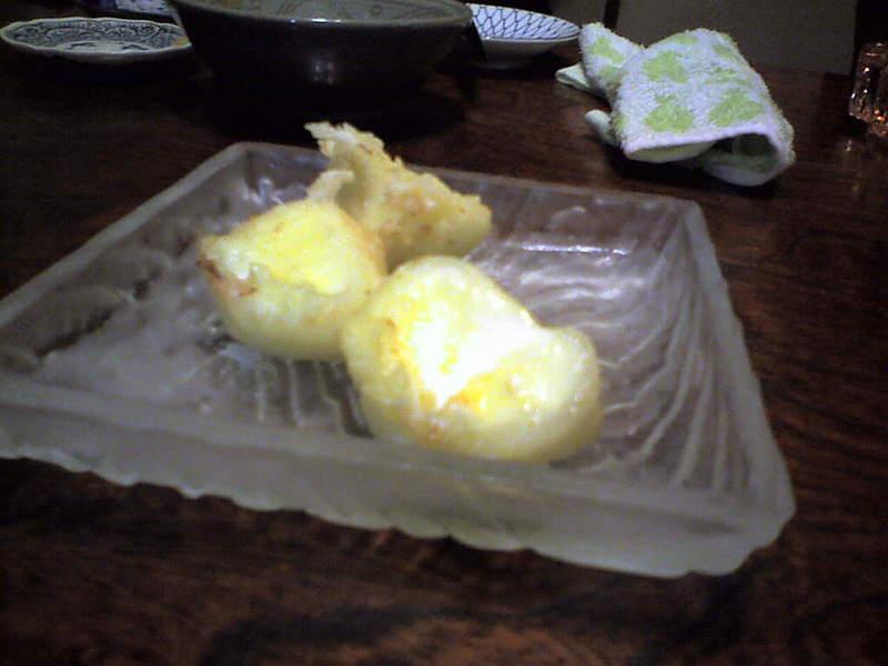 アイスクリーム天ぷら